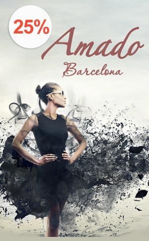 """Акция """"Amado Barcelona"""" - очарование испанской моды специально для Вас со скидкой 25%!"""