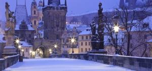 Прага - Новогодняя Незнакомка - скидка 15 евро!