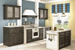 Вариант кухни с фасадами по акции Discont со скидкой 35% - VG - мебельные комплектующие, г. Архангельск. Сегодня действуют скидки.