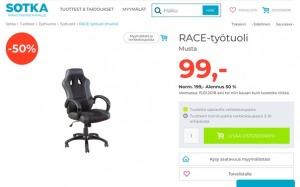 Офисные стулья и кресла со скидкой 50%. Мы привезём из Финляндии без % по цене Sotka, г. Мурманск. Всем клиентам предоставляется скидка.