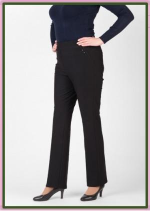 Вы можете купить большие женские брюки со скидкой использовав промокод. Брюки Victoria - классические длинные женские брюки, г. Москва.