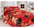 Яркое и стильное постельное белье Евро размера с оригинальным 3D дизайном!
