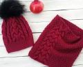 Снова новая скидка 20% на весенние комплекты и шапочки красного цвета, г. Челябинск.