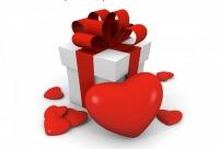 Ко дню Святого валентина 14% на все!