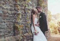 Мы делаем скидки до 50% на любое свадебное платье и аксессуары в любое время года. Мы не кричим о том что у нас акции скидки и распродажи, г. Петрозаводск. Лучший день для скидок.