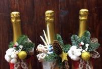 Всем подписчикам скидка 10%. Новогоднее оформление подарочных бутылок, г. Екатеринбург. Не упустите скидки и акции.