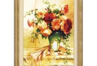Действие скидки - сегодня последний день. Замечательный набор с букетом роз от фабрики экошоу - алмазная мозаика алмаз - элит, г. Новосибирск.