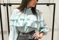 Не забывайте всем кто оставил комментарий скидка -10%. Блуза представлена в сером и мятном цвете 3190 р, г. Челябинск. Новые онлайн скидки.