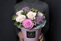 """Стоимость без скидки 4560 рублей. """"Композиция дня"""" 19 февраля 2018 г - цветы Иркутск - Fashion Flowers. Вам предоставляется скидка."""