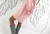 Большая скидка - 42% осталось 3 д. женский однотонный пуловер с рукавом летучая мышь с круглым вырезом - Aliexpress распродажи топ, г. Москва.