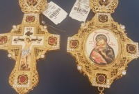 """Сегодня, 10 января, скидка 25% на наперсный крест при покупке панагии - галерея """"Благолепие Богослужения"""", г. Москва. Очень много скидок."""