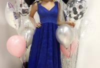 Скидка 10% на ваше выпускное платье. В наличии платьице премиум - линии в синем цвете, г. Воронеж.