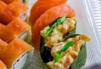 Делай заказ через приложение получай скидку 10% - дайкон суши, г. Новосибирск. У нас много скидок.