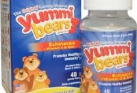 10 со скидкой 10%. Yummi Bears эхинацея + витамин C и цинк 40 шт, г. Тула.