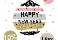 С 15 декабря мы дарим новогодние скидки на весь ассортимент - абажур, лучшая одежда для света, г. череповец. Скидки, акции.
