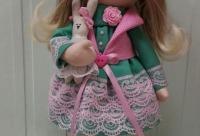 До 8 марта, на эту куколку, действует скидка -20% - интерьерные куклы, мастер классы, апатиты.