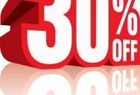 Скидка 30% мы отнимаем в уме от цены, где подписано - чудо - товары заграничные, г. Санкт-петербург. Сегодня бесплатные скидки.