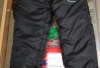 Скидки. Штанишки синтепон зимние черные и синие с Микки всего 490 рублей - детки - конфетки, г. Зеленодольск.