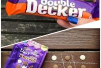 Скидки до 60%. Батончик Cadburu Doubledecker старая цена 9 9 р новая 4 9 р - другие сладости, Барнаул, .