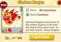 Цена по скидке 200 слитков. Дракон - Глориоза Gloriosa Dragon - Dragon Story, история драконов, г. Москва. Мы предоставим вам скидку.