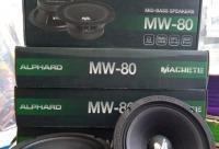 """Акустика Alphard MW - 80 мидбас 8"""" 4Om 250 вт RMS - автозвук и автоаксессуары в Воронеже. Большие скидки для вас."""