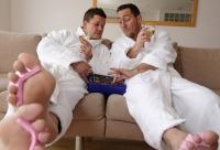 Комплекс мужской маникюр + мужской педикюр со скидкой 23%. Мужчины расслабляйтесь активней набирайтесь сил он уже близко, г. сосновый бор. Очень много скидок.
