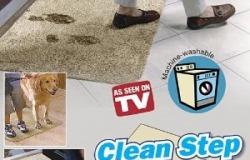 Супер-впитывающий придверный коврик Clean Step Mat со скидкой 50% или 55% скидкой за два!