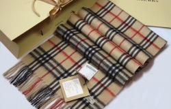 Стильный шерстяной шарф в клетку Burberry от интернет-магазина «MyShopBeauty». Скидка 57%. Бесплатная доставка по всей России.