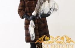 КУПОН на дополнительную скидку брендовых норковых шуб Nina Berardi