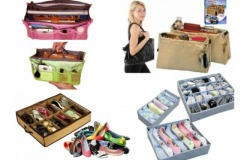 Органайзеры для обуви, сумки, одежды и нижнего белья со скидкой до 64% от магазина «KupiKrasoty»! Доставка БЕСПЛАТНАЯ!