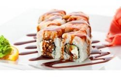 Япония с доставкой на дом! суши и роллы + любой ролл в подарок! Закажите прямо сейчас!